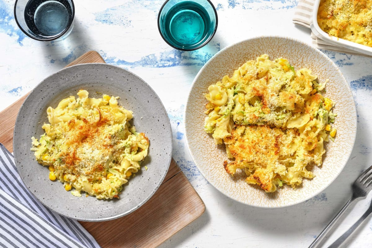 Vegetarische mac & cheese