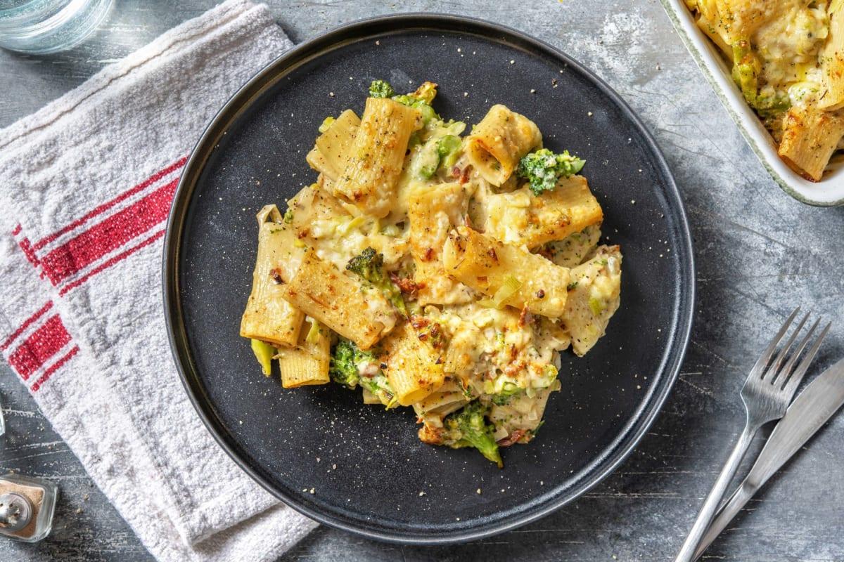 Macaroni de légumes verts