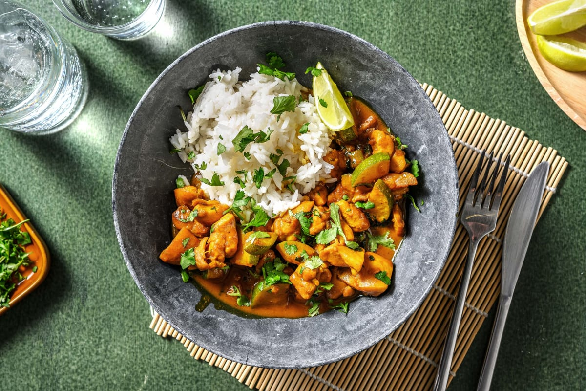 Malaysian Style Coconutty Chicken Curry