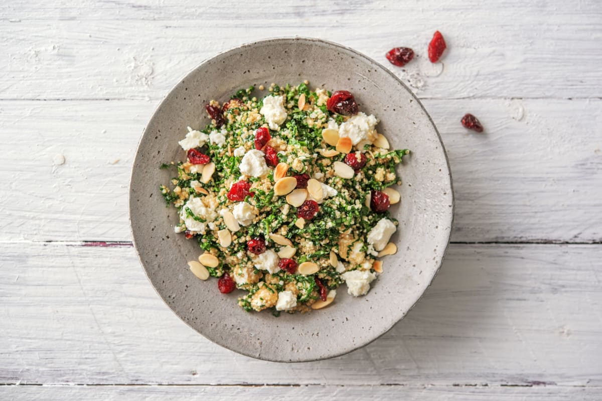 Kale and Quinoa Power-Up Salad