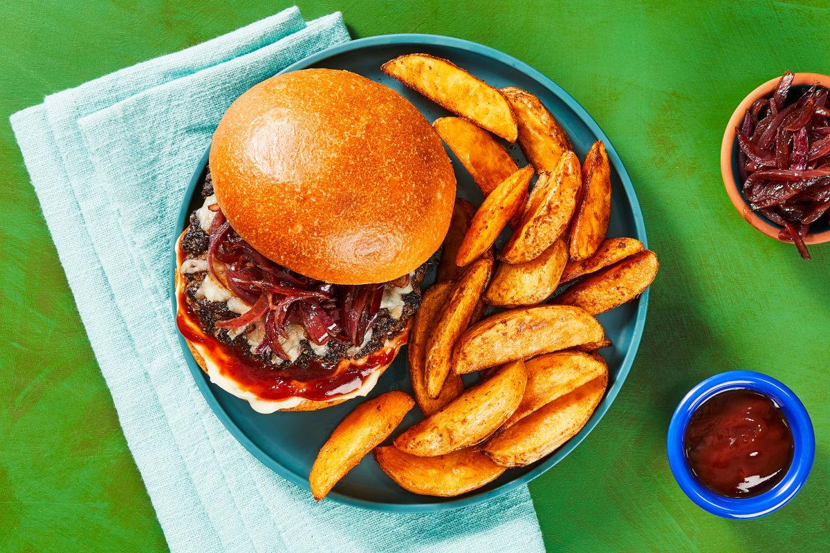 Melty Monterey Jack Burgers
