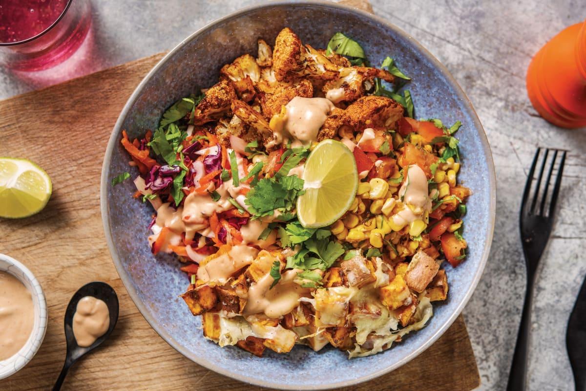 Mexican Spiced Cauliflower Bowl
