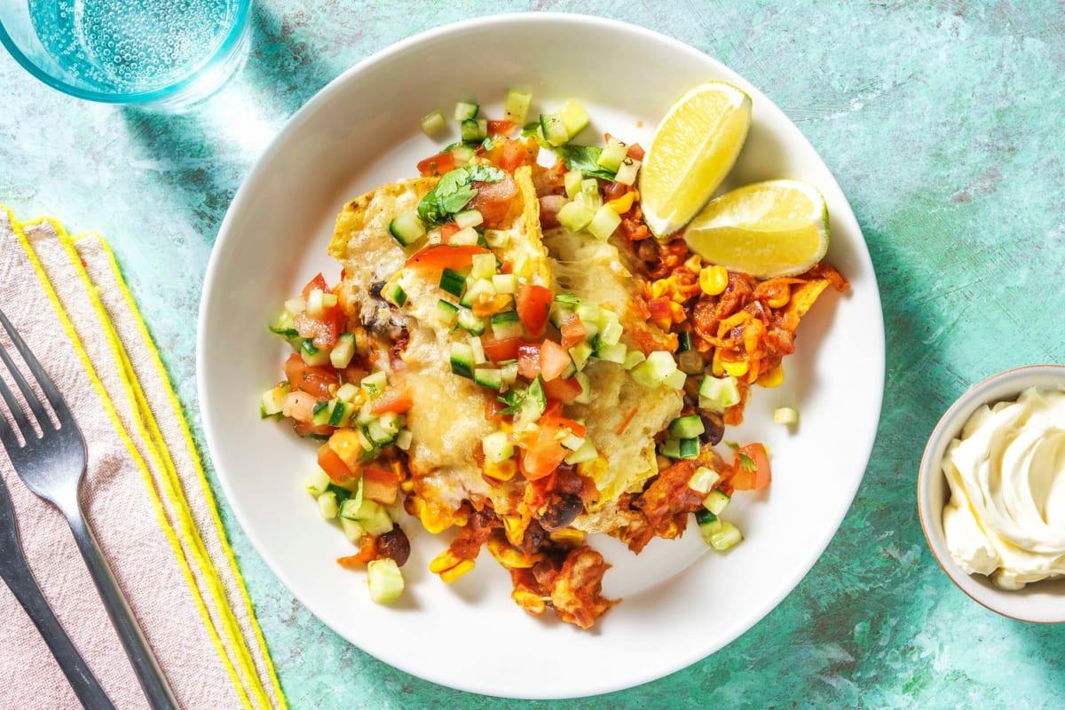 Mexikansk-kryddade bönor