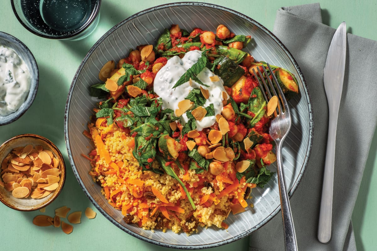Middle Eastern Chickpea & Tomato Stew