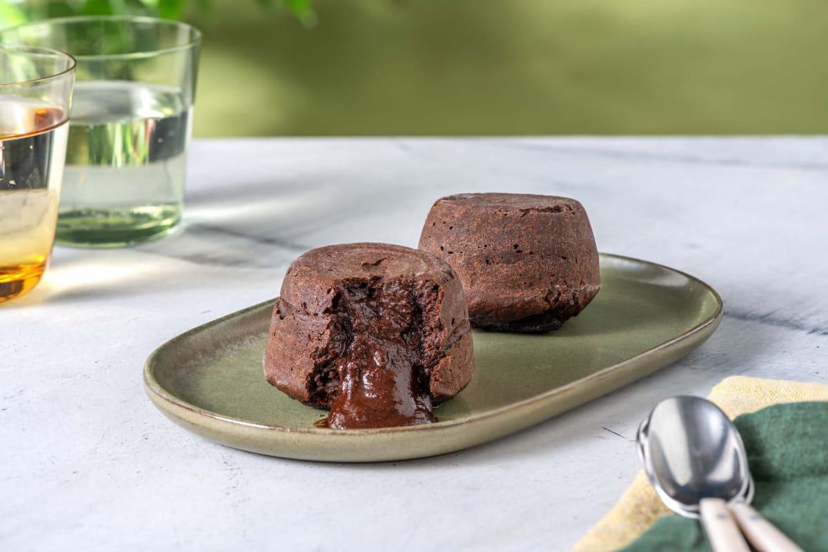 Unbelievably Chocolatey Lava Cake