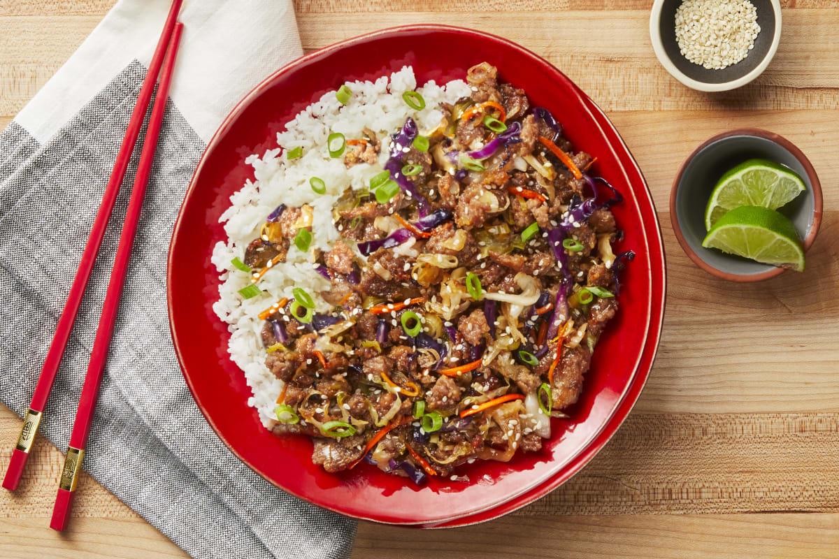 Moo Shu Pork Bowls