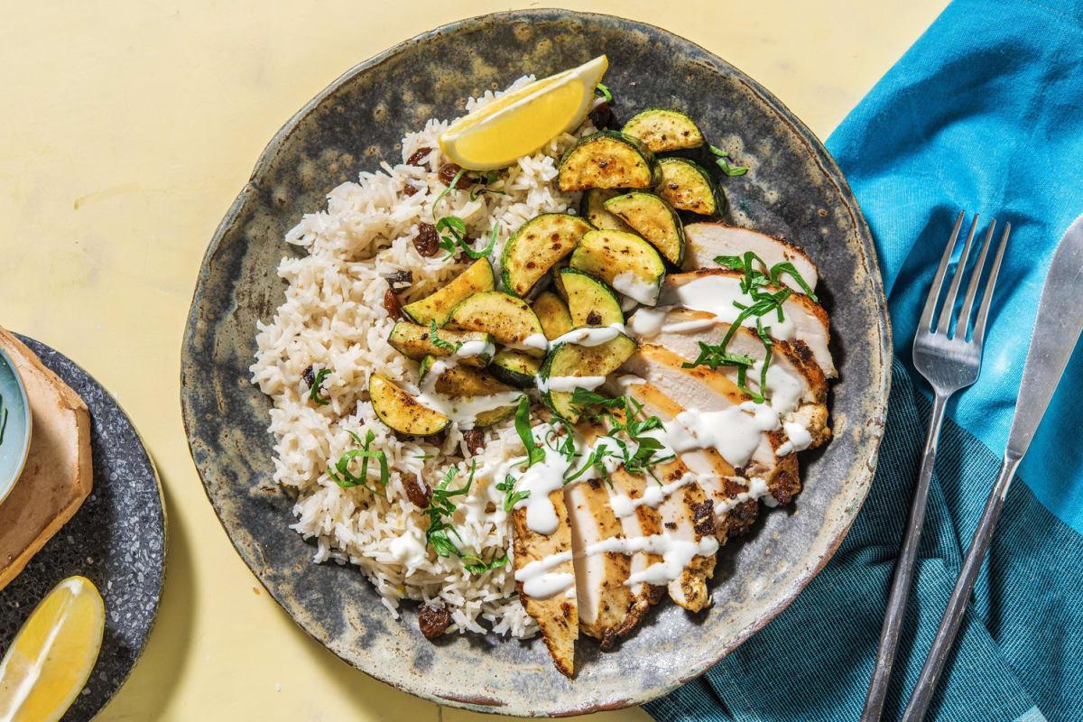Moroccan Spiced Chicken