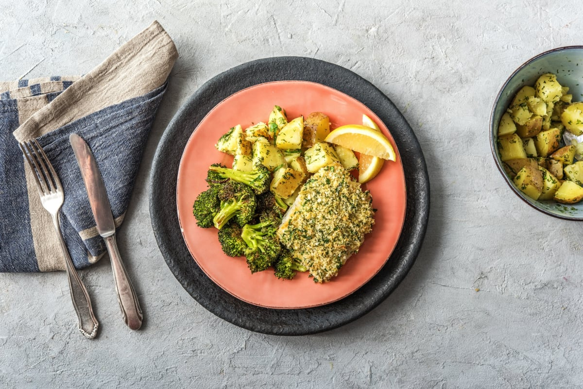 Crusted Dijon Cod Recipe