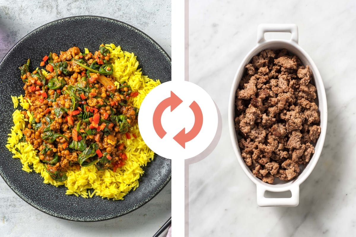 North Indian Style Beef and Lentil Curry