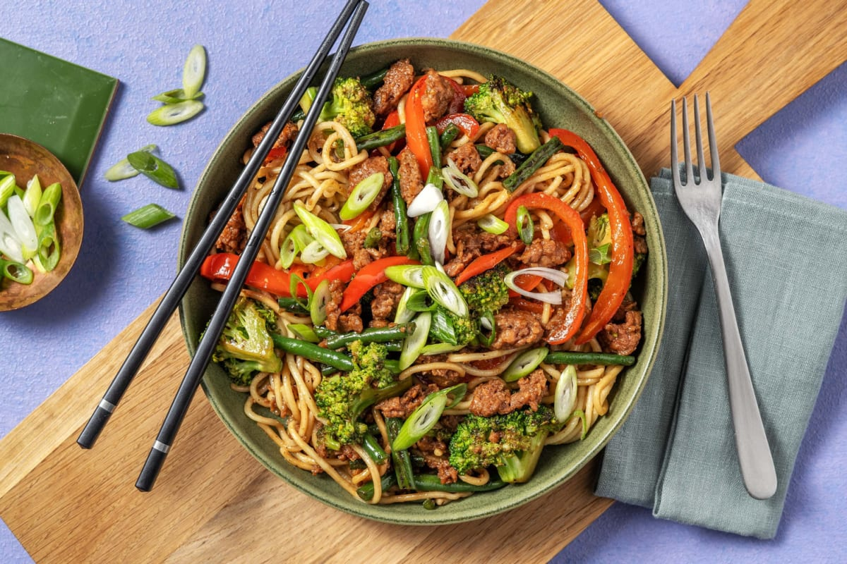 Cantonese-Style Noodles