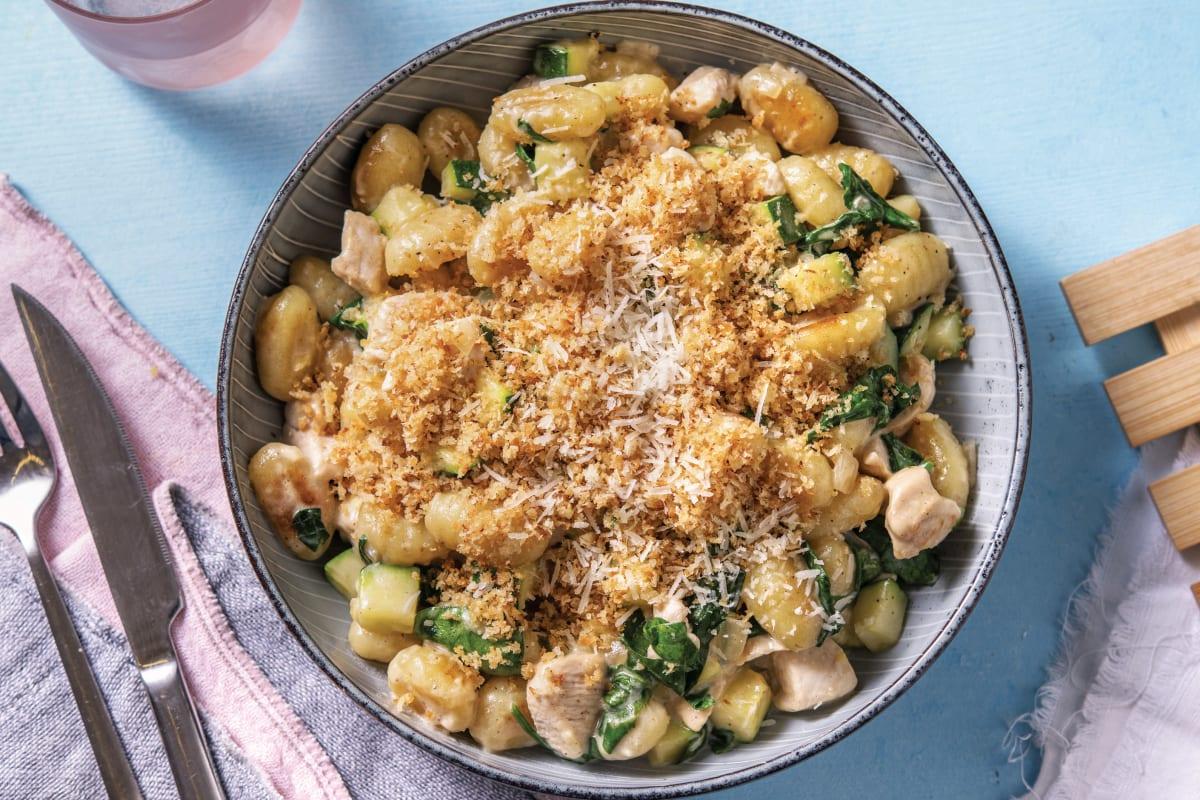 One-Pan Creamy Chicken Gnocchi