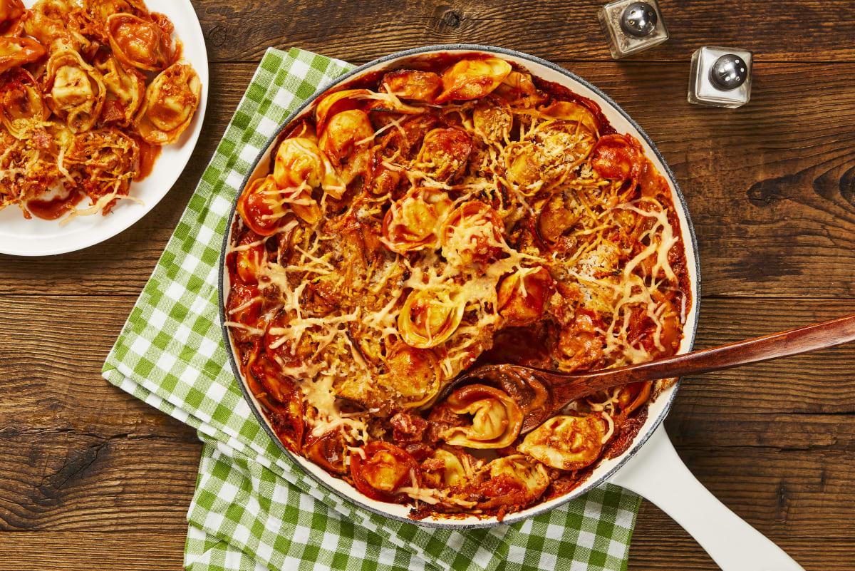 Tomato Tortelloni Bake