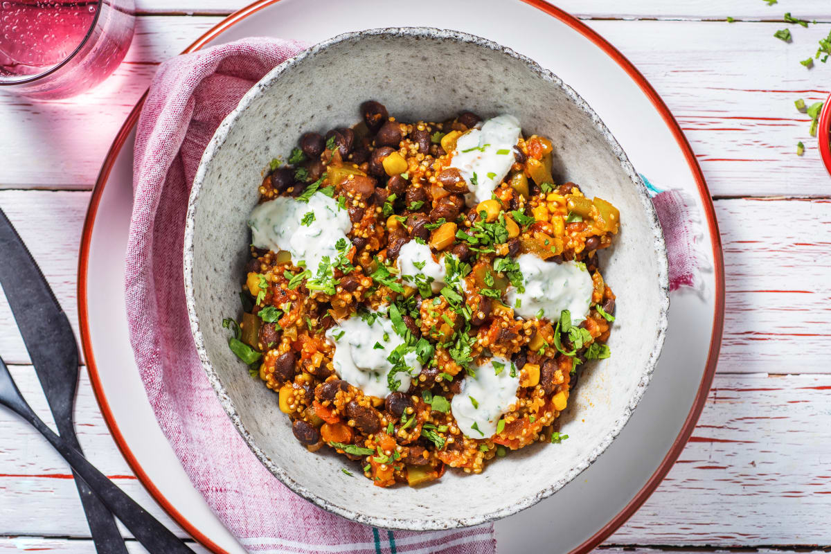 One-Pot Mexican Quinoa and Black Beans