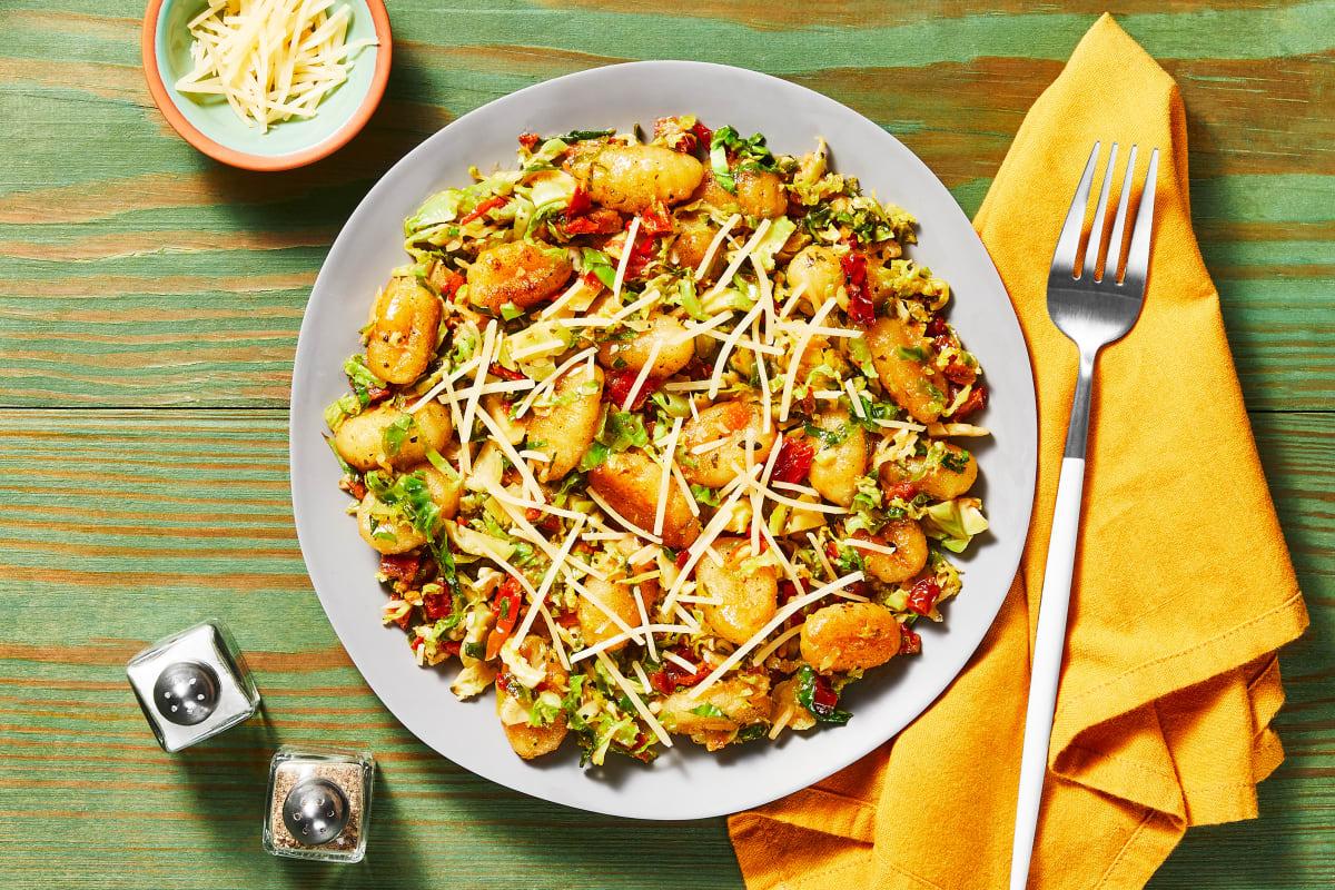 Pan-Fried Garlic Herb Gnocchi
