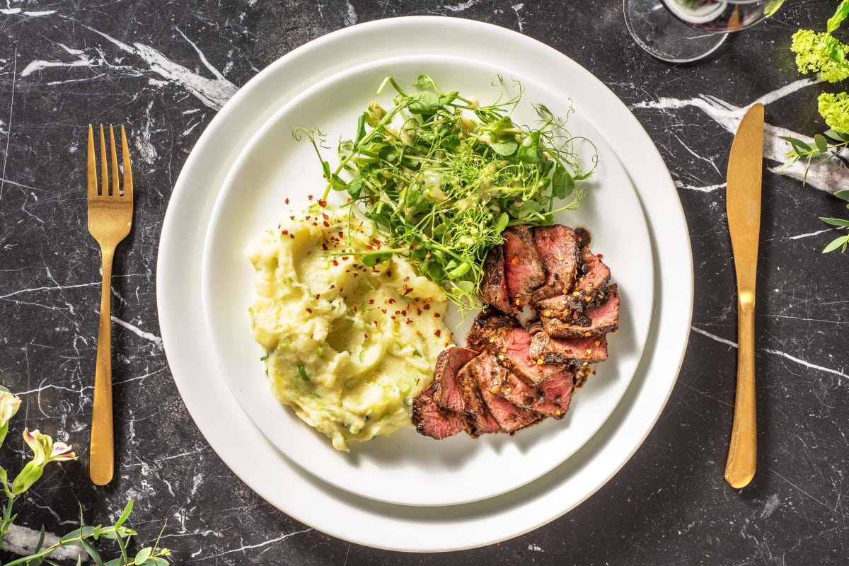 Pan-Fried Sirloin Steak