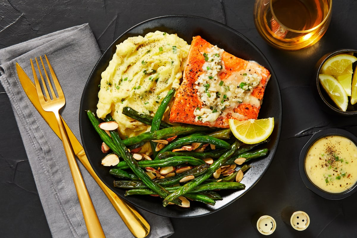 Pan-Seared Wild Sockeye Salmon