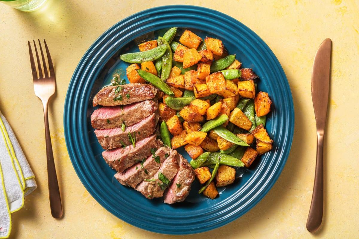 Pan-seared Steak and Garlic Butter
