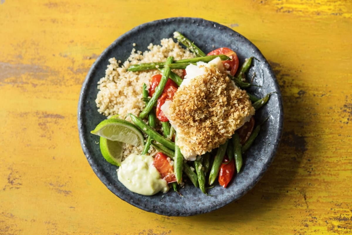 Panko Crusted Cod Recipe Hellofresh