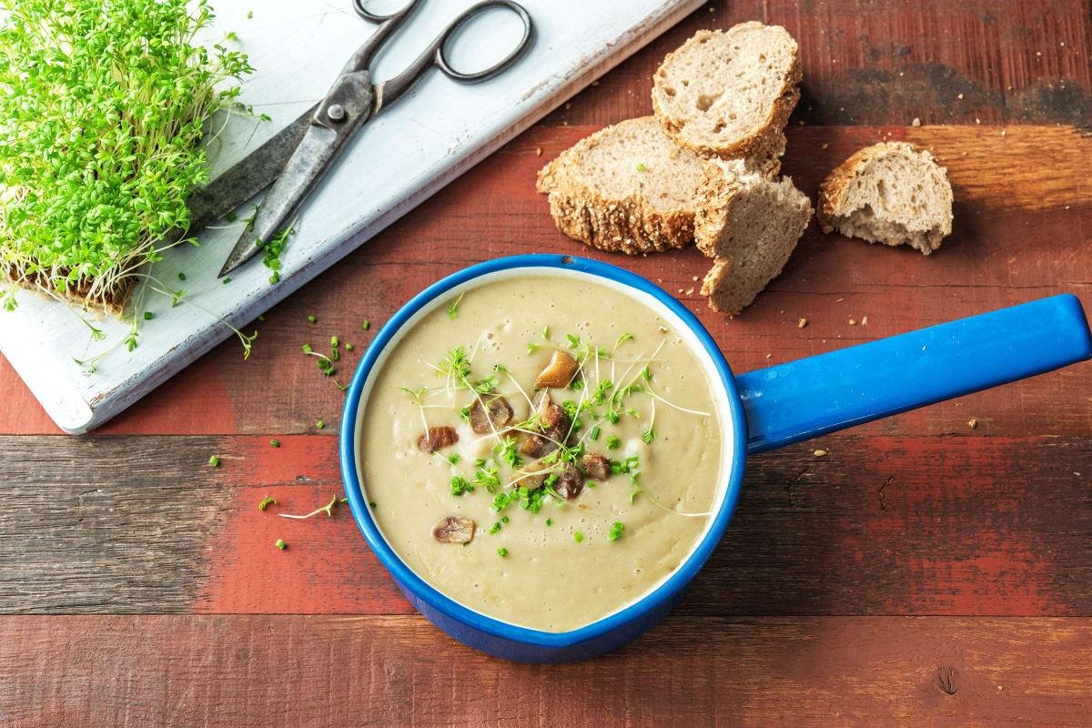 Pastinaken-Maronen-Suppe
