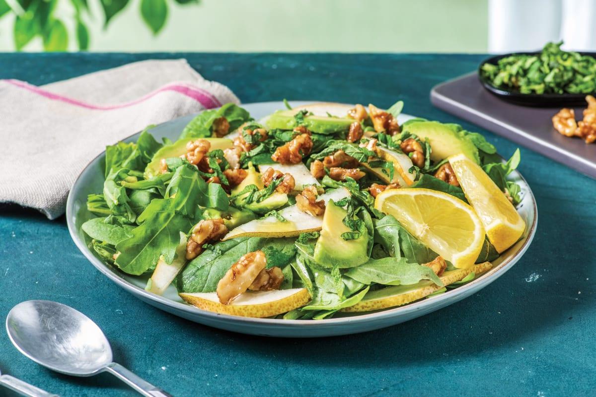 Pear, Rocket & Avocado Salad