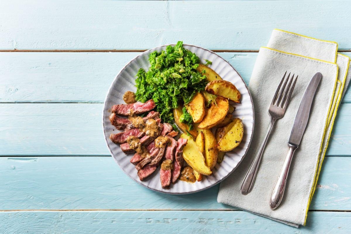 When Steak Met Potatoes