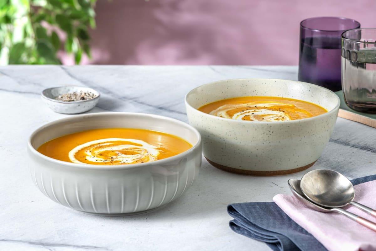 Super Comforting Butternut Squash Soup