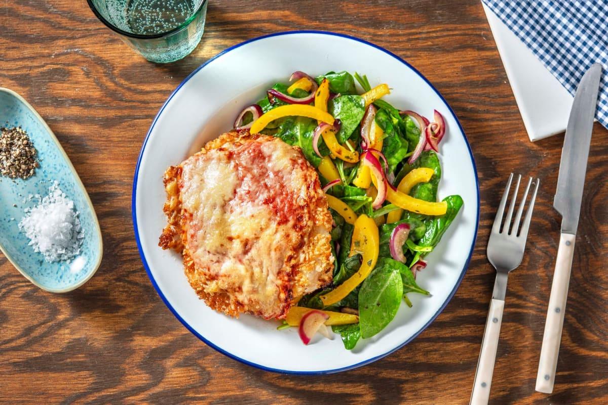 Crispy Chicken Parmigiana