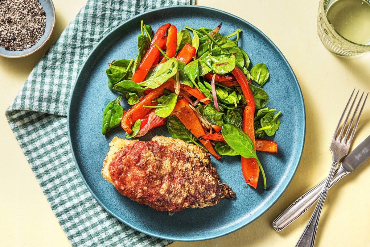 Crispy Chicken Parmigiana Recipe Hellofresh