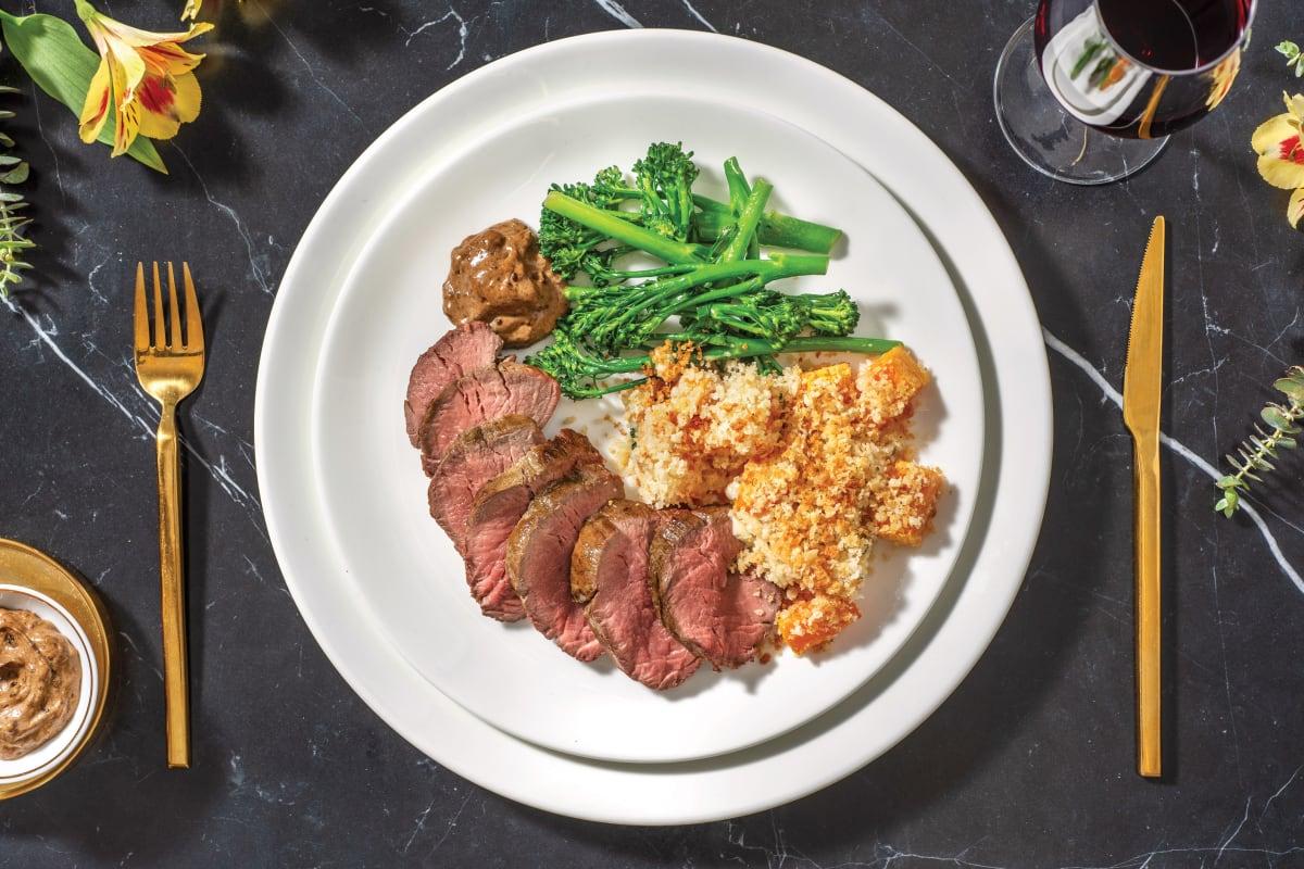 Premium Fillet Steak & Black Garlic Mayo