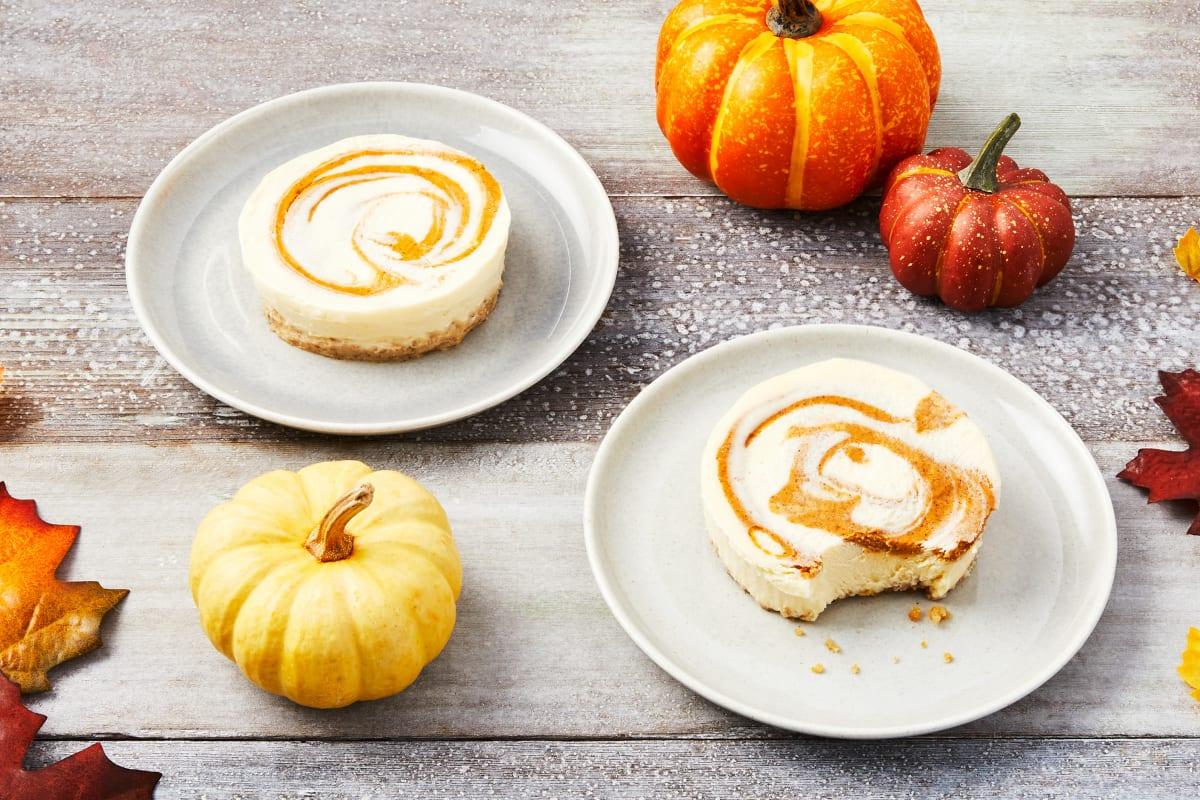 Pumpkin Cheesecakes