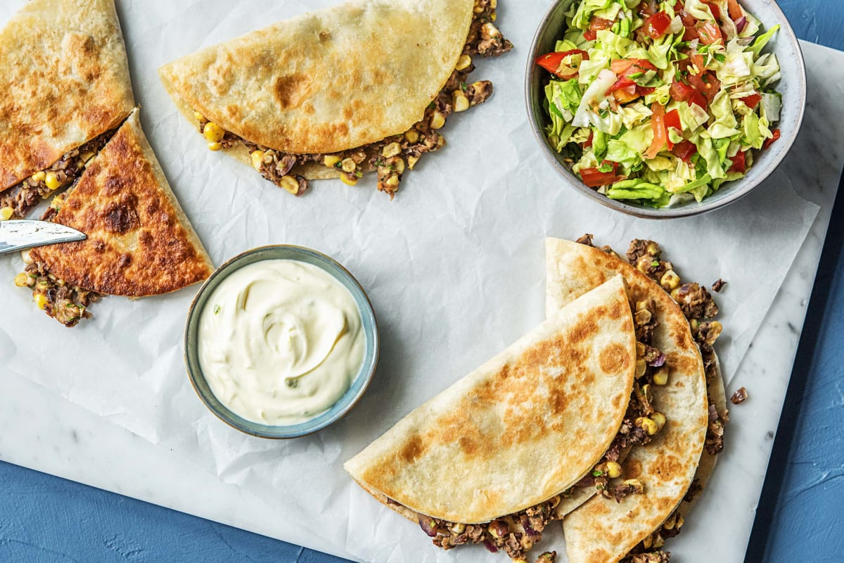 Quickdraw Quesadillas