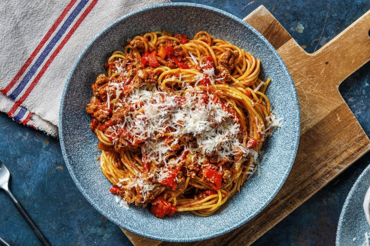 Beef and Roasted Red Pepper Ragout