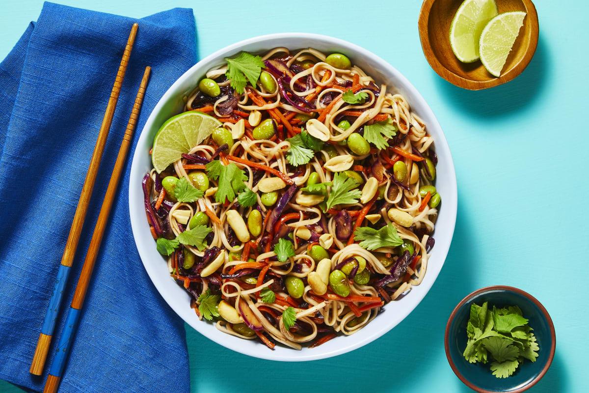 Rainbow Thai Noodle Toss