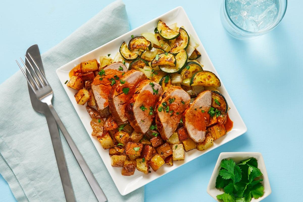 Roasted Pork Tenderloin Recipe   HelloFresh