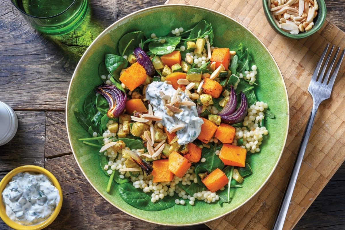 Roasted Pumpkin & Pearl Couscous Salad