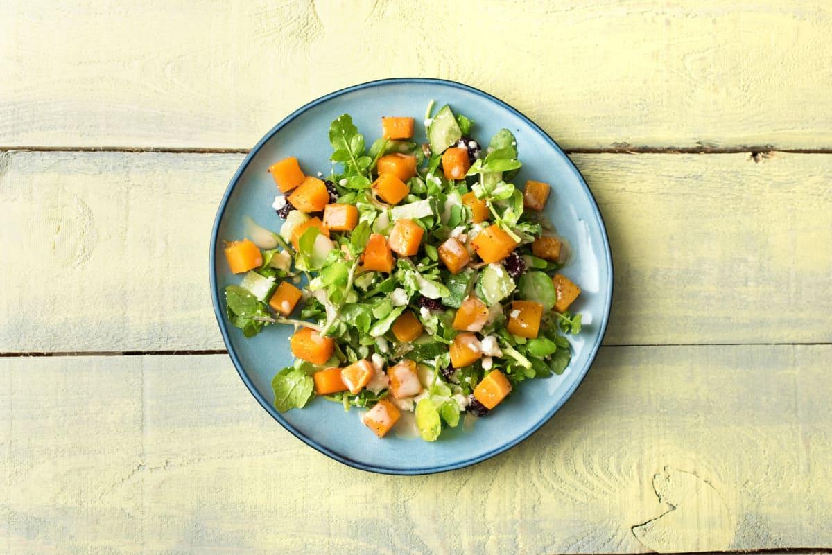 Roasted Squash and Apple Salad