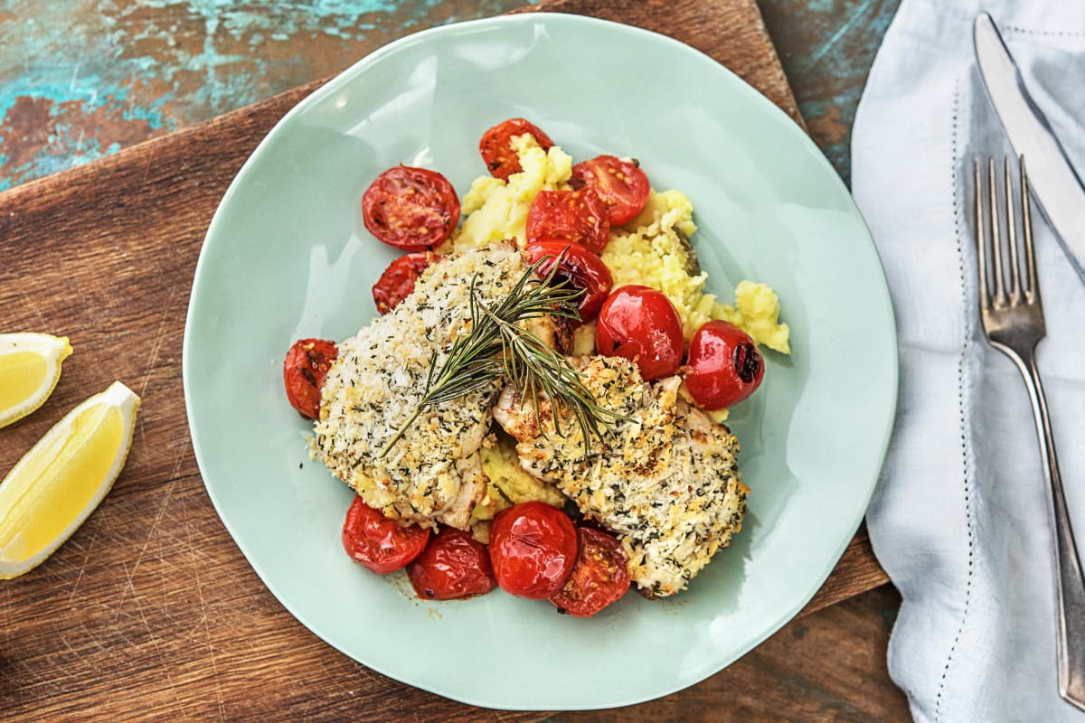 Rosemary-Crusted Chicken Thighs