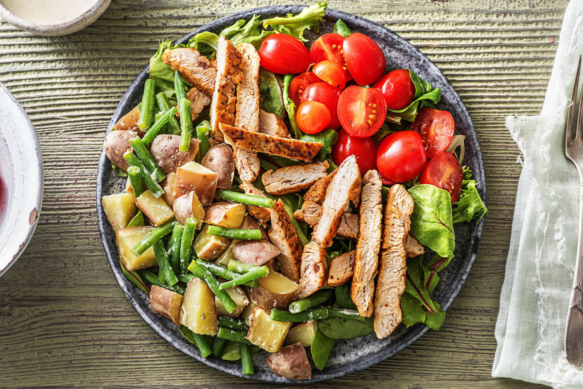 Cajun Turkey Chopped Salad