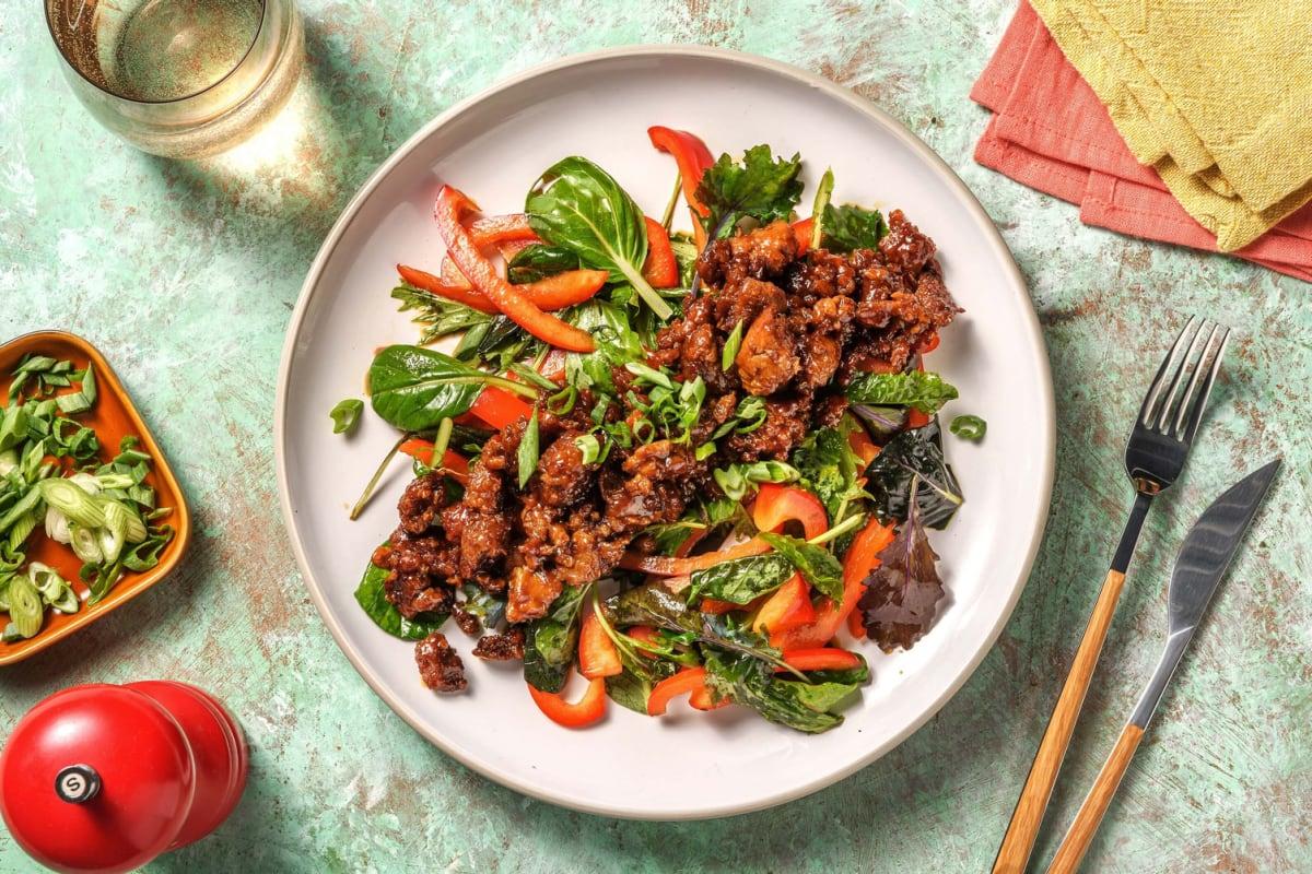 Sesame-Soy Asian Salad