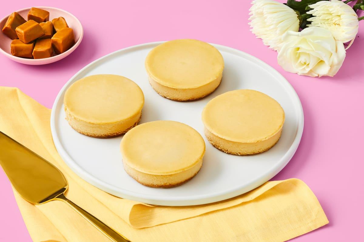 Salted Caramel Mascarpone Cheesecake