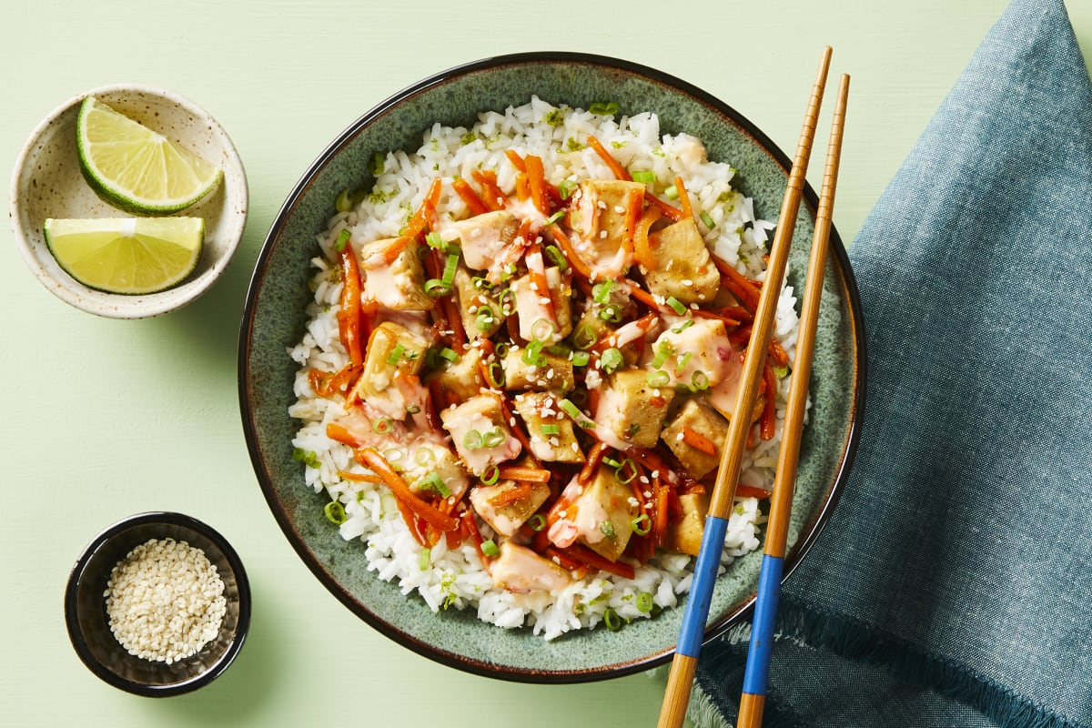 Saucy Sesame Chicken Stir-Fry