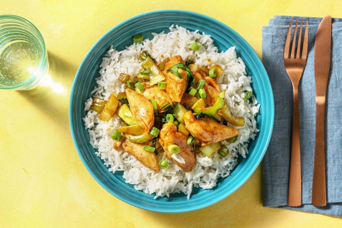 Spicy Hoisin Chicken Stir-Fry