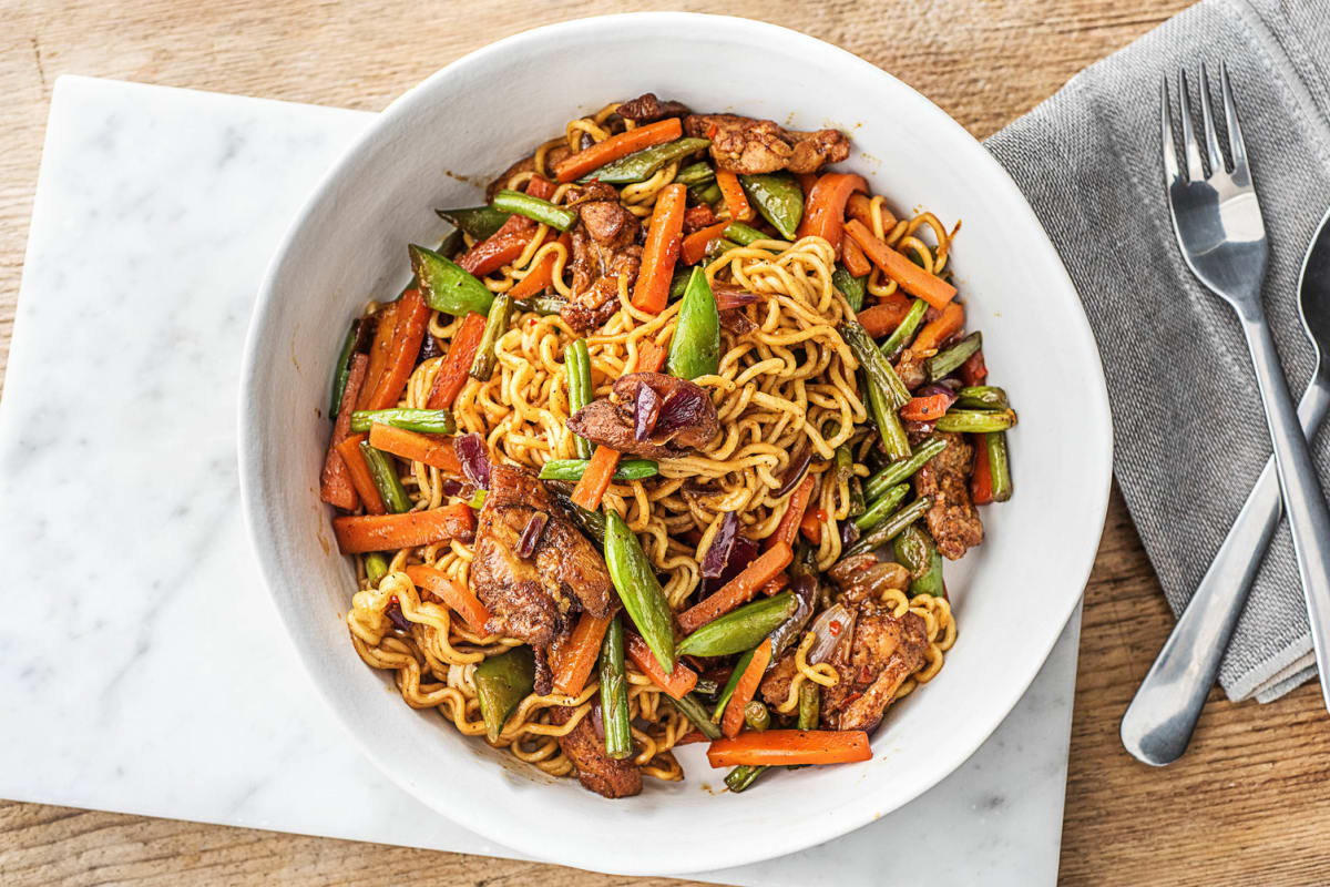 Savoury Steak Stir-Fry