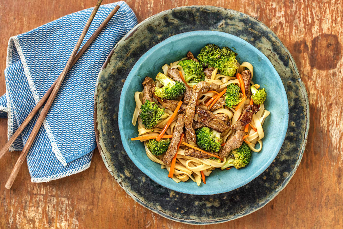 Seared Beef Noodles
