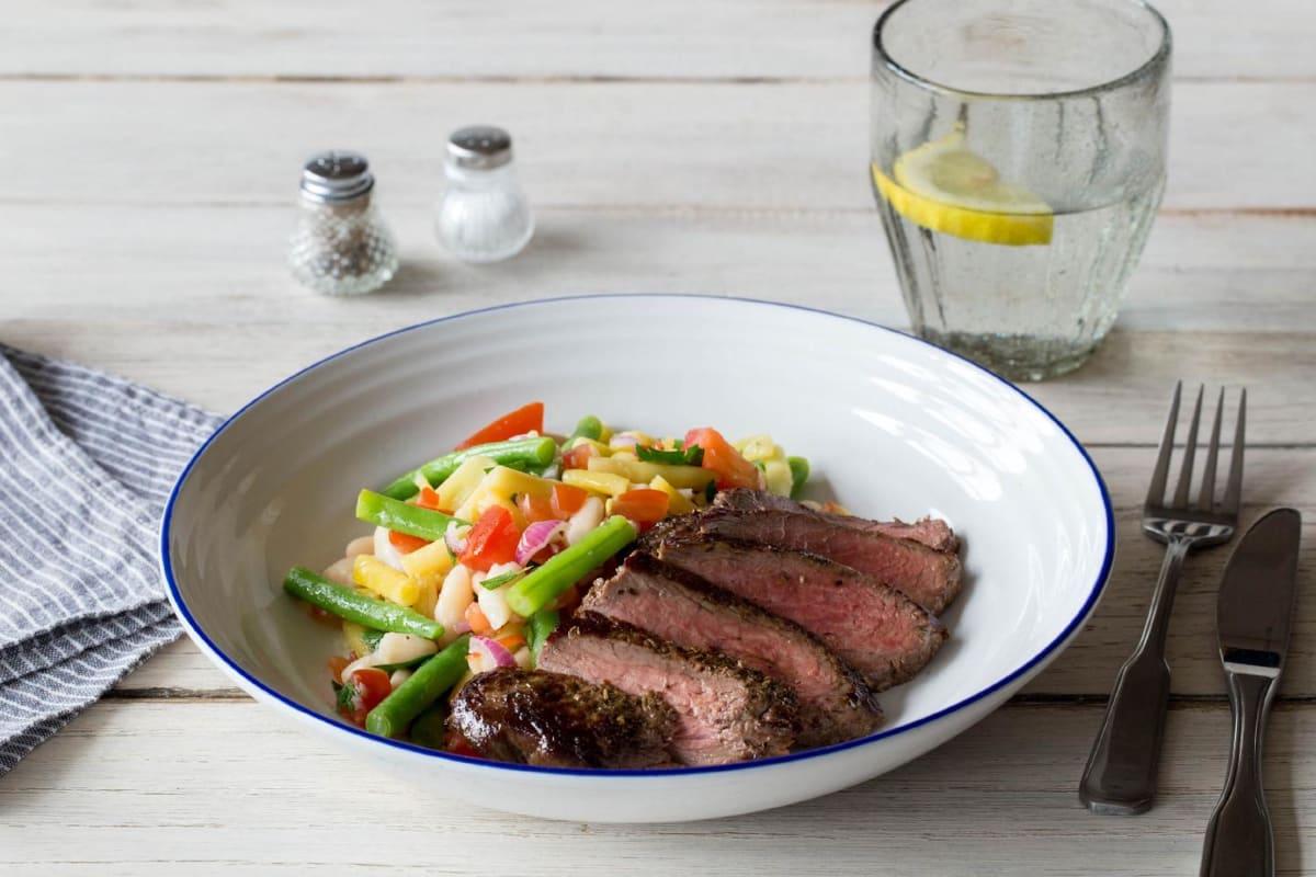 Seared Provençal Steak