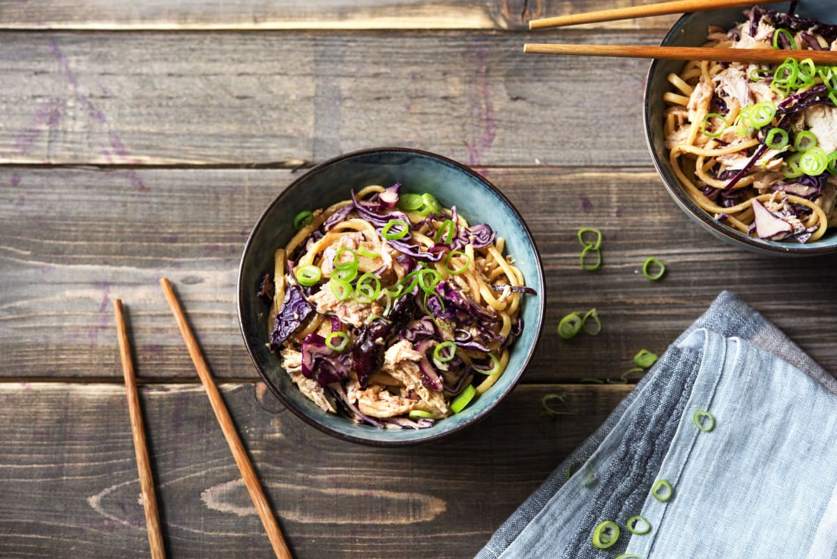 Slurp's Up! Sesame Chicken Noodles