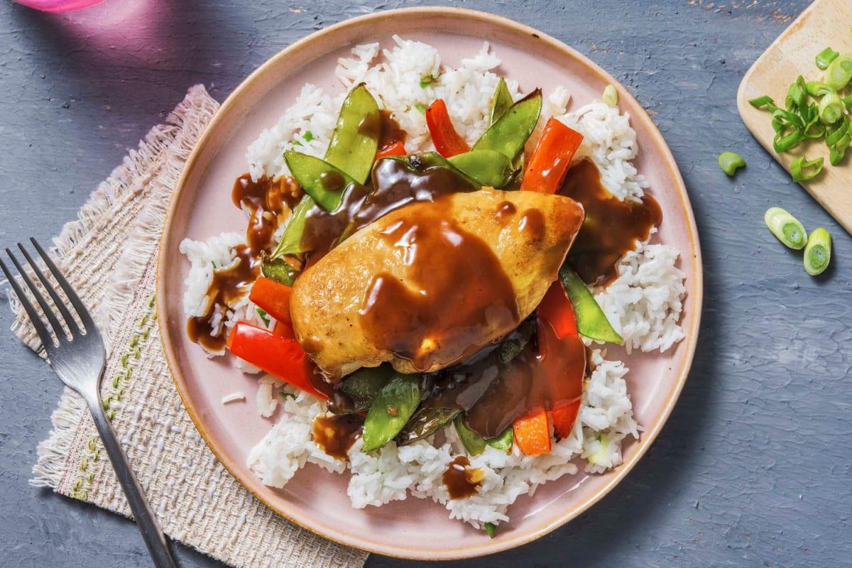 Sheet-Pan Hoisin Chicken and Veggies