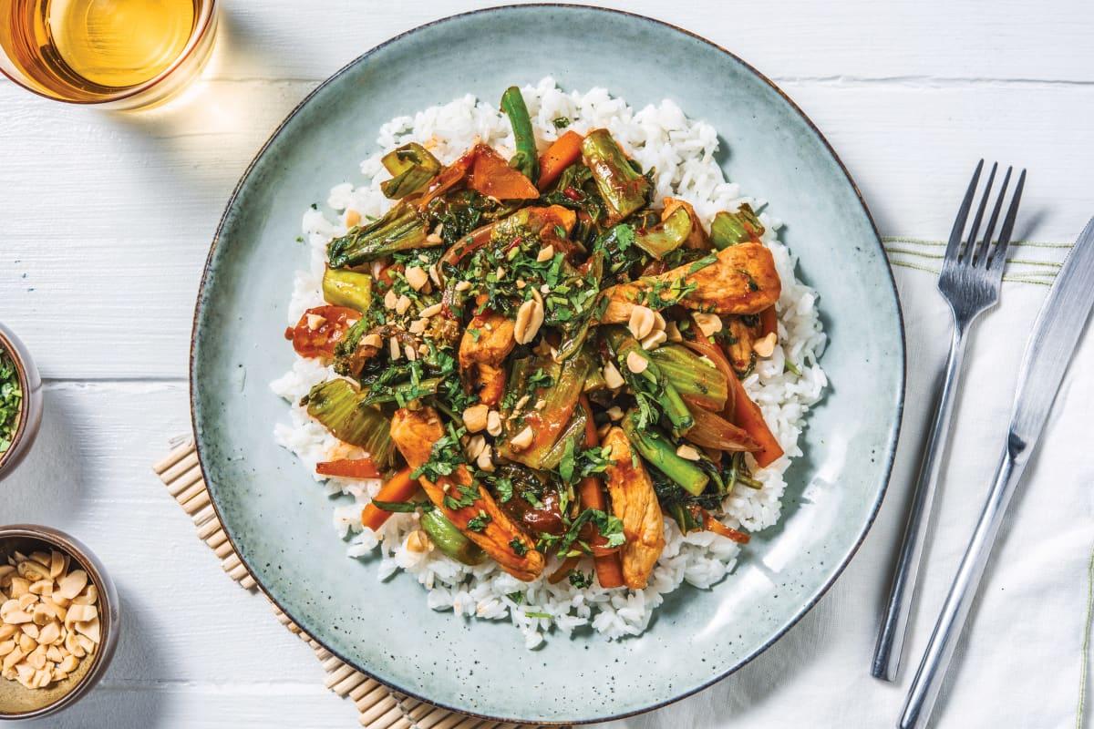 Asian Zesty Pork Stir-Fry