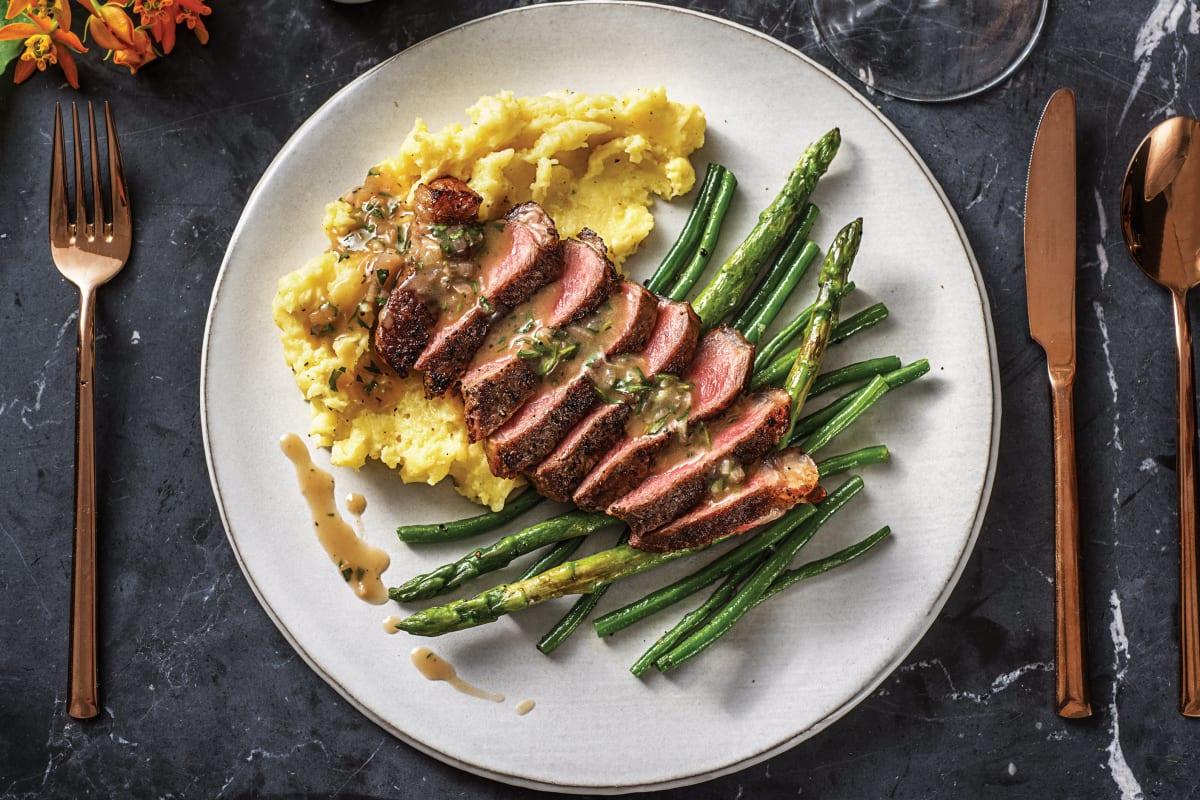 Premium Fillet Steak & Tarragon Sauce