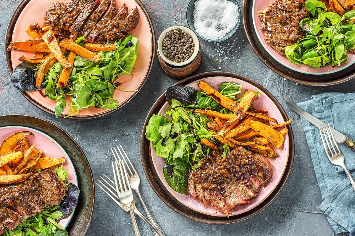 Sizzling Balsamic Steak